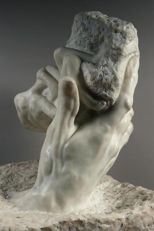 Auguste Rodin - La Main de Dieu ou la Création, 1896 c