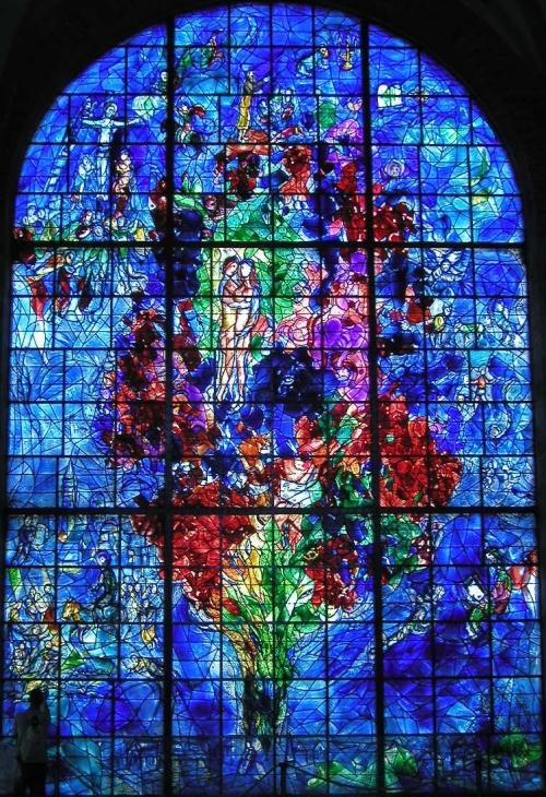 Marc Chagall - La paix ou l'Arbre de vie, chapelle des Cordeliers de Sarrebourg