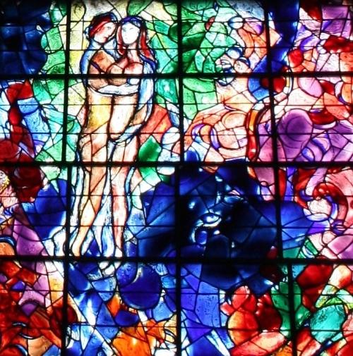 Marc Chagall - La paix ou l'Arbre de vie (détail)