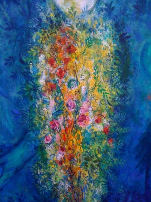 Marc Chagall - L'arbre de vie (détail)