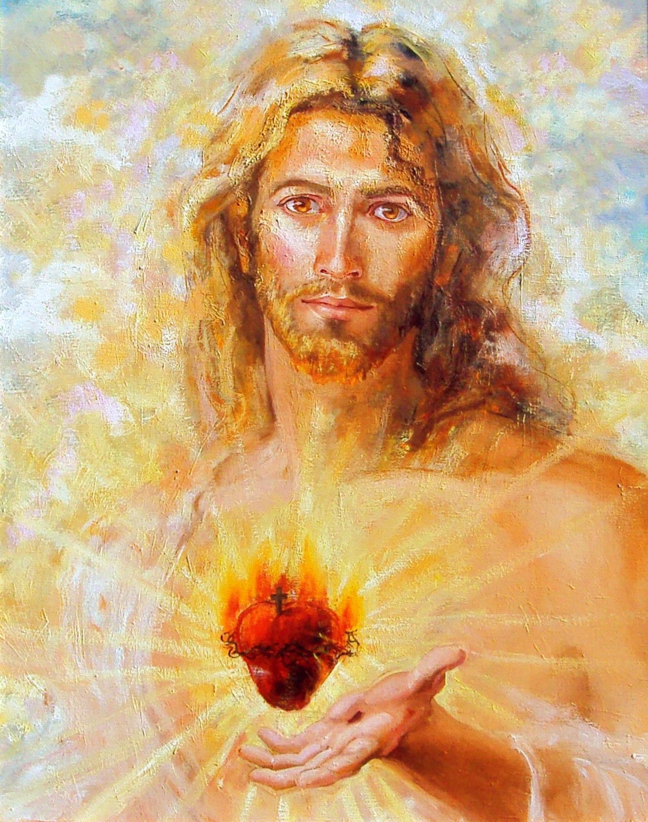 Mois de Juin = Dévotion au Sacré Coeur Coeur-sacrc3a9-de-jc3a9sus