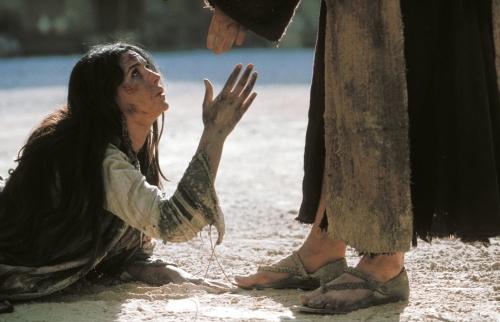 Jésus et Marie Madelaine dans La Passion du Christ,
