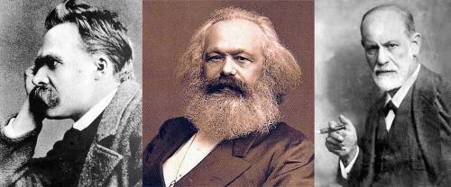 Nietzsche, Marx, Freud