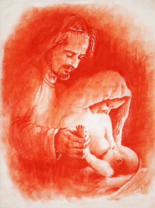 marie-allaitant